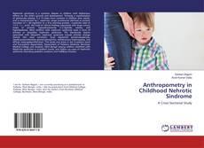 Buchcover von Anthropometry in Childhood Nehrotic Sindrome