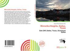 Buchcover von Winnetka Heights, Dallas, Texas