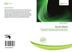 Bookcover of Sarah Stock
