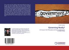 Bookcover of Governing Really?