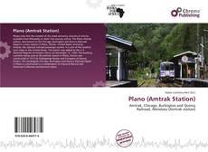 Portada del libro de Plano (Amtrak Station)