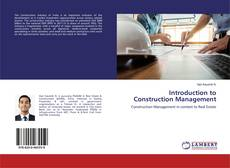 Introduction to Construction Management的封面