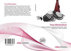 Tony Richardson kitap kapağı