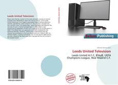 Capa do livro de Leeds United Television