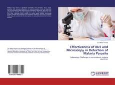 Portada del libro de Effectiveness of RDT and Microscopy in Detection of Malaria Parasite
