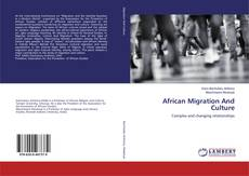 African Migration And Culture的封面