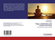 Capa do livro de Yoga, meditation and mantra chanting