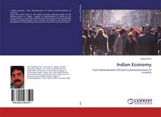 Capa do livro de Indian Economy