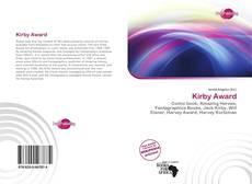 Portada del libro de Kirby Award