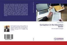 Portada del libro de Corruption in the Education Sector