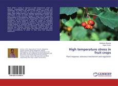 Bookcover of High temperature stress in fruit crops