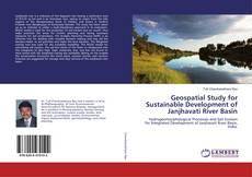Buchcover von Geospatial Study for Sustainable Development of Janjhavati River Basin