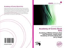Portada del libro de Academy of Comic Book Arts