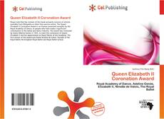 Bookcover of Queen Elizabeth II Coronation Award