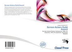 Обложка Screen Actors Guild Award