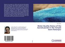 Capa do livro de Water Quality Status of the Sacred ponds in the Temple town Ratanpur