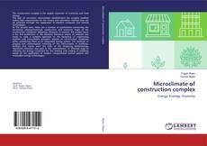 Обложка Microclimate of construction complex