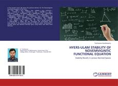 Couverture de HYERS-ULAM STABILITY OF NOVEMVIGINTIC FUNCTIONAL EQUATION