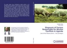 Buchcover von Diagnosis of Factors Responsible for Muslim Conflicts in Uganda