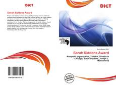 Sarah Siddons Award的封面
