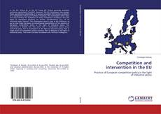 Portada del libro de Competition and intervention in the EU