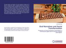 Buchcover von Oral Narratives and Social Transformation