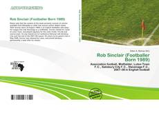 Couverture de Rob Sinclair (Footballer Born 1989)