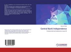 Bookcover of Central Bank Independence
