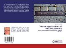 Bookcover of Political Education in East and West Germany