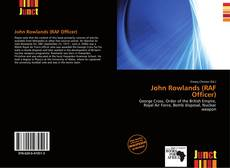 Capa do livro de John Rowlands (RAF Officer)
