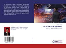 Capa do livro de Disaster Management