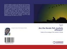 Buchcover von Are the Kerala fish markets efficient?