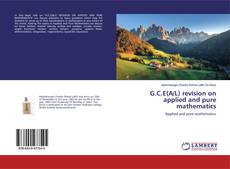 G.C.E(A/L) revision on applied and pure mathematics的封面