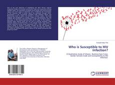 Couverture de Who is Susceptible to HIV Infection?