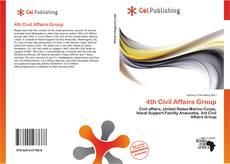 Bookcover of 4th Civil Affairs Group