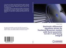 Bookcover of Stochastic differential equations driven by fractional Brownian motion with Hurst parameter 1/2<H<1 and Young integral