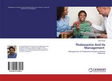 Portada del libro de Thalassemia And Its Management