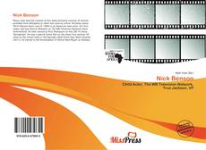 Bookcover of Nick Benson