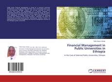 Buchcover von Financial Management in Public Universities in Ethiopia