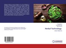 Bookcover of Herbal Technology