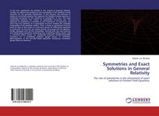 Bookcover of Symmetries and Exact Solutions in General Relativity
