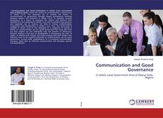 Bookcover of Communication and Good Governance
