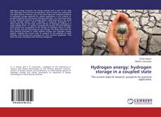 Bookcover of Hydrogen energy: hydrogen storage in a coupled state
