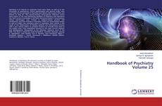 Capa do livro de Handbook of Psychiatry Volume 25