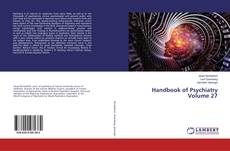 Buchcover von Handbook of Psychiatry Volume 27