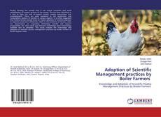 Buchcover von Adoption of Scientific Management practices by Boiler Farmers