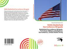 Bookcover of 504th Battlefield Surveillance Brigade