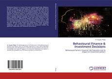 Bookcover of Behavioural Finance & Investment Decisions