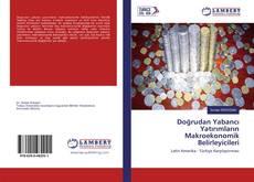 Buchcover von Doğrudan Yabancı Yatırımların Makroekonomik Belirleyicileri