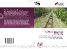 Portada del libro de Northern Securities Company